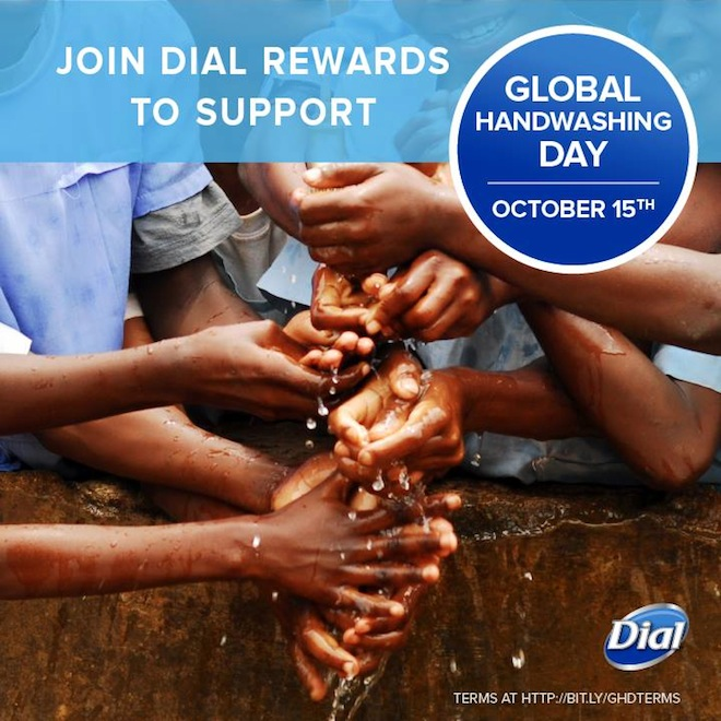 Dial Global Handwashing Day